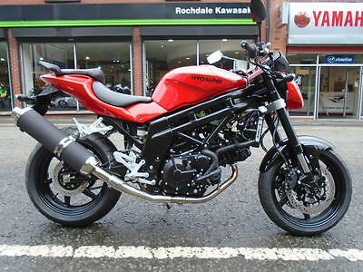 Hyosung GT650 0% Finance and low rate insurance available