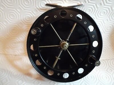 "Fred Crouch Match Aerial 4 1/2"" Centrepin Fishing Trotting Reel"