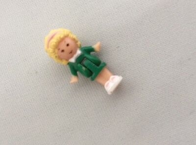 Vintage 1989 Lucy Locket Carry N Play Dream Home Polly Pocket Figure Rare Doll