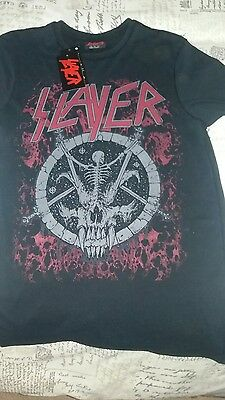 Slayer T Shirt Size S New with tags