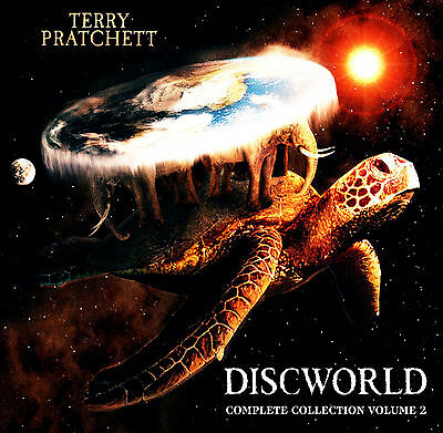 Terry Pratchet Discworld Volume 2 Complete Collection Titles 16 to 30 Unabridged