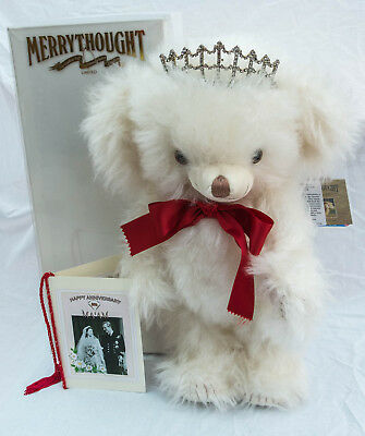 Merrythought Cheeky Diamond Wedding Bear 15 inches T15DIAM Limited Edition 2007