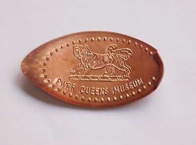 UK. Pressed Penny Elongated Coin - Dover Castle, PWWR & Queens Regiment Museum