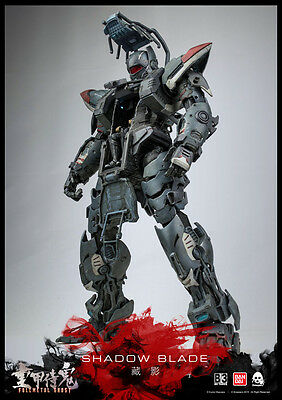 B/3 Collaboration Project Actionfigur FullMetal Ghost Shadow Blade - UVP: 549,00