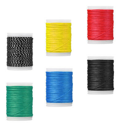 6pcs 110m 0.4mm Archery Bow String Serving Thread Bowstring Making Thread