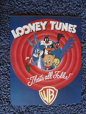 """Looney Tunes """"That's all Folks!"""" Print, Brand New"""