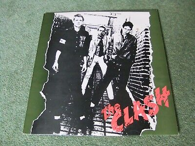 The Clash - 1977 Uk 1St Press Punk Vinyl Lp