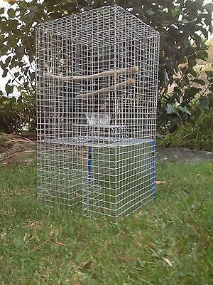 Myna Bird Tower Trap (Indian Myna, Mynah) Get Starlings & Black Birds too