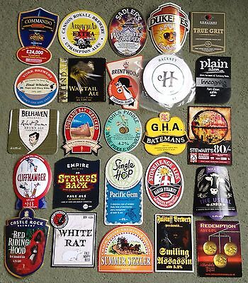 Job Lot Of Twenty Five Real Ale Beer Pump Clips