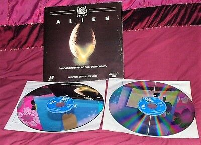 ALIEN - UK - PAL/SECAM 625 - 1090-70 - 1979 - Laser Disc **RARE**
