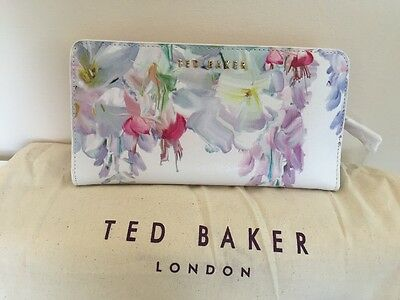 TED BAKER Hanging Gardens Leather Purse BNWTS & Dust Bag NOUEL