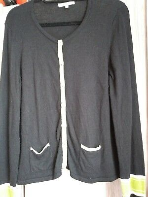 laura ashley size 20 cardigan.  Black