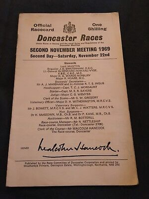 Doncaster 1969 Red Rum Red Alligator Rare !!!
