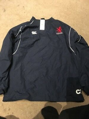 Player Issue: London Scottish Rugby Waterproof Top.