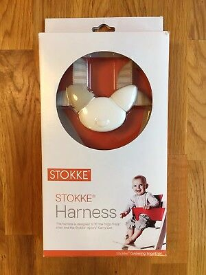 Stokke Harness - straps for Tripp Trapp baby high chair, beige with connectors