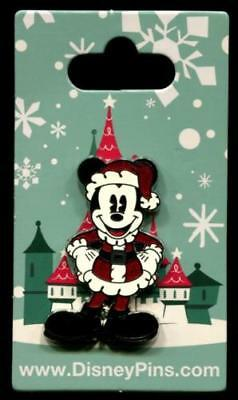 Pie Eyed Mickey Mouse - Santa Suit -  Disney Pin
