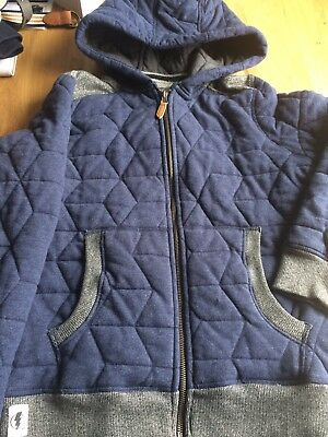 Next Boys Coat 11 Years Old Quilted Coat. New No Tags 99p
