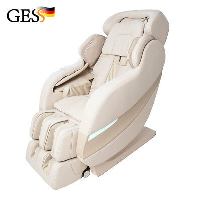 Electric massage chair for home Premium body Rolfing (beige)