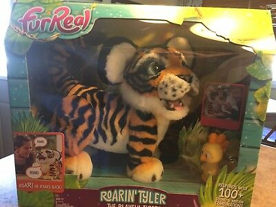 FurReal Roarin Tyler, the Playful Tiger, My Interactive Hasbro Friends Toy Pet