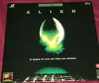 ALIEN  Widescreen PAL Laser Disc