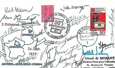 Spandau Cover Signed By 20 +.