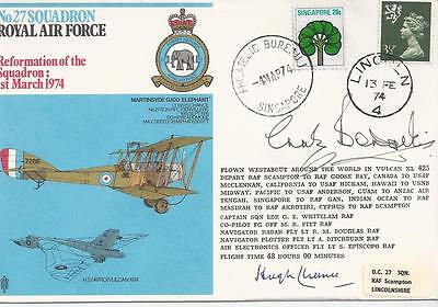 Raf Second Series 22C. Signed By 2. 284/1250.
