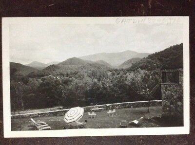 Private Heated Swimming Pool, Chalet Motel, Gatlinburg, TN - Photo Postcard