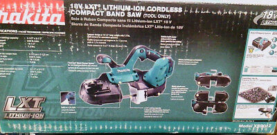 Makita 18V Lithium-Ion Cordless Compact Band Saw Tool Only #XBP01Z