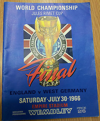 1966 World Cup Final - ENGLAND v WEST GERMANY (Original)