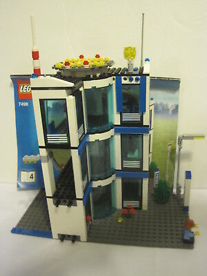 Lego City 7498 Police Station Books 1234 Missing Two Pieces W