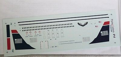 1/200 Flying Colors Decal FC20-006 Metrojet Boeing 737