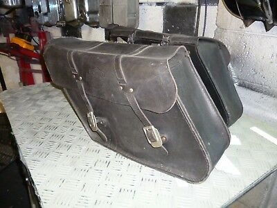 Harley Davidson Leather panniers