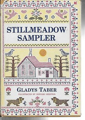 2 Stillmeadow HC Books, Gladys Taber, Sampler, Seasons