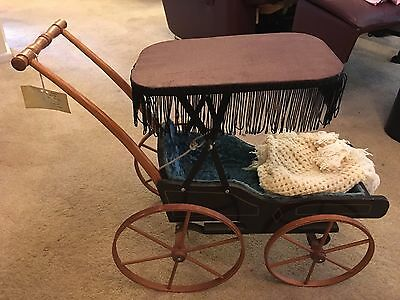 Replica 1850's Doll Buggy