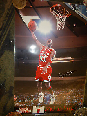 Michael Jordan-#23--Sports Illustrated 1991 Vintage Poster-Full Size 2 By 3 Feet