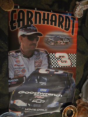 2000 Poster #3-Dale Earnhardt -Nascar Racing-No Pinholes--Full Size 2 By 3 Feet