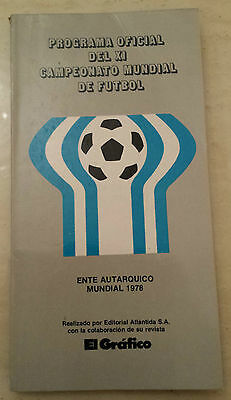 1978 World Cup Official Tournament Programme