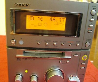 Sony CMT-CP505MD  Shelf System - MINI DISC/CD/TUNER  (see description B4 bidding