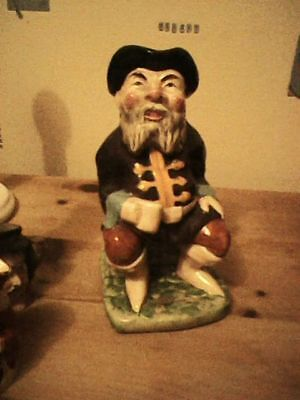 Vintage Tale Teller Toby Jug 19Cm High X 11Cm Squared Melba Ware Very Old
