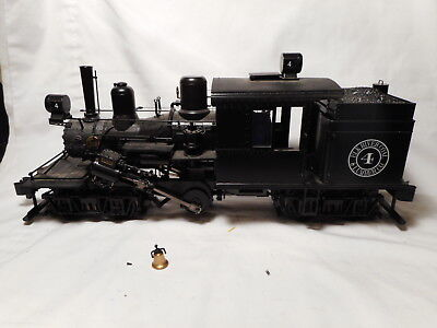 Bachmann - G-Scale Elk River Coal & Lumber Co. Two-Truck Climax #4 DCC Sound