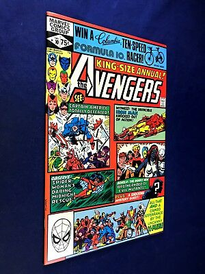 Avengers Annual #10 (1981 Marvel Comics) 1st appearance of Rogue & Madelyn Pryor