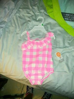 carters 18 months girl bathing suit