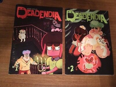 Deadendia magazines 1 and 2 by Hamish Steele