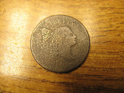 US 1795 Half Cent No Pole - corroded but scarce - 1795?