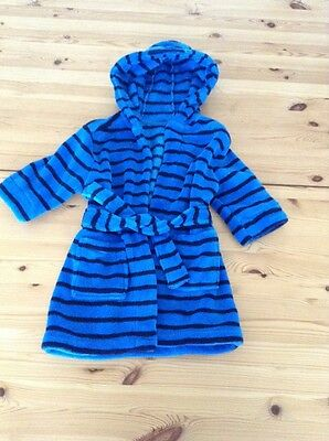 baby boys dressing gown mothercare 12-18m