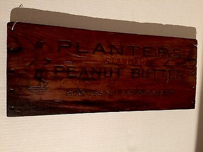 100 Year Old Mr Peanut! 1st Generation 1917 Standard Peanut Butter Antique