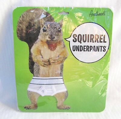 Squirrel Underpants - Accoutrements 2008 - Mini Tighty Whitey Briefs - Unopened