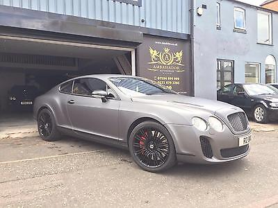 2005 Bentley Continental 6.0 auto GT FULL SUPERSPORT CONVERSION