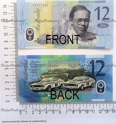 Allan Moffat Bathurst Ford Novelty 12 Note