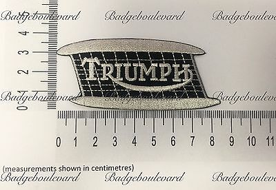 Triumph Tank Badge Embroidered Cloth Patch